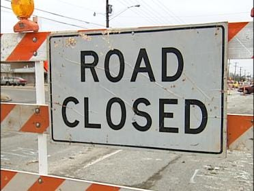 Busy Tulsa Co. Road To Close For Debris Removal