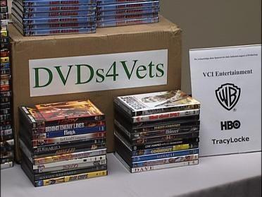 Tulsa Vet Center Gets DVDs