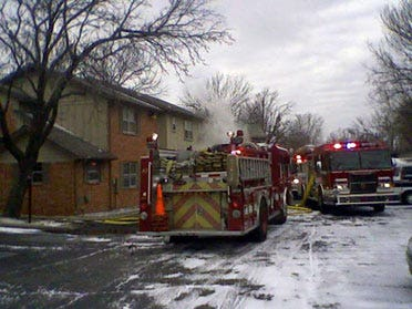 Tulsa Apartment Damaged By Fire