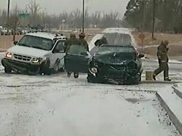 Tulsa Traffic Mishap Sends One To Hospital