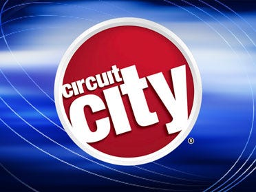 Circuit City To Liquidate Oklahoma Stores