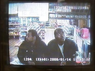 Kwick Stop Handgun Thieves Caught On Tape