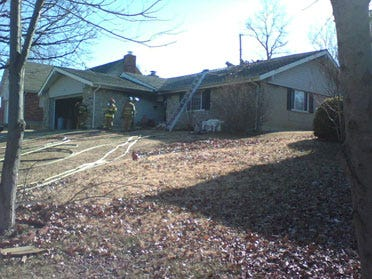 Man Rescued From Burning West Tulsa Home
