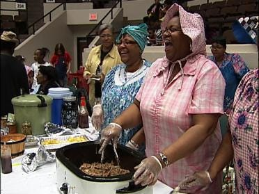 Dozens Compete In Soul Food Cook-Off