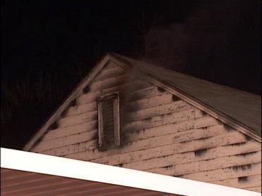 Car Sparks Tulsa Garage Fire