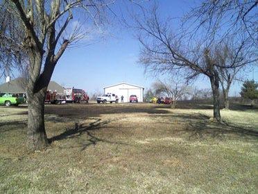 South Tulsa Co. Grass Fire