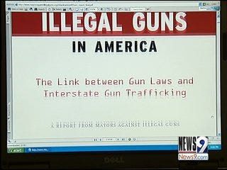 Mayors Release Report on Illegal Guns