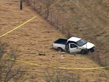 Suspected Killer Crashes During High Speed Chase