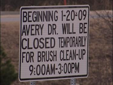 Avery Drive Due For A Clean Up