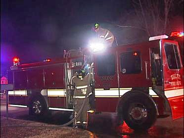 One Hurt In Overnight Tulsa House Fire