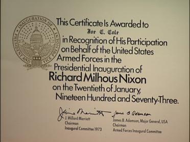 Tulsa Doctor Recalls Nixon's Inauguration
