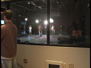 New Broadcast Studio For Webster High