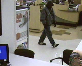 Police Seek Tulsa Bank Robber