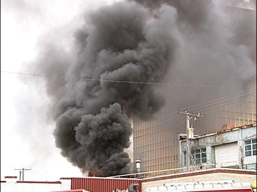 Boats Damaged In Downtown Tulsa Fire