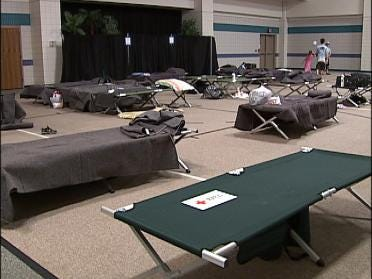 Emergency Shelters Opened By Red Cross