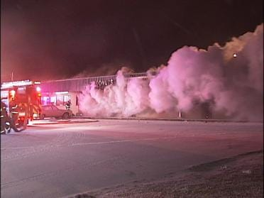 Fire Damages North Tulsa Convenience Store