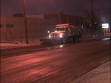 Salt Trucks Take To Tulsa Streets