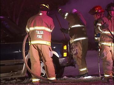 Tulsa Police Make DUI Arrest After Accident