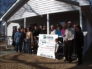Tulsa Family Receives Home Built By Lady Builders