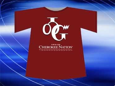 Cherokee Nation Honoring Bradford With T-Shirts
