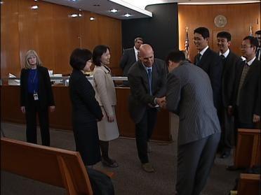 South Korean Judges Study Oklahoma Justice