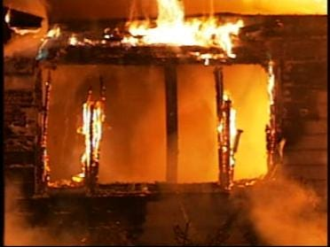 Candle To Blame For Tulsa House Fire