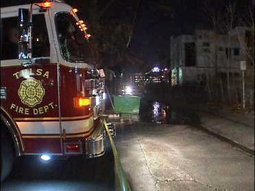 Messy Tulsa Oil Spill Cleaned Up
