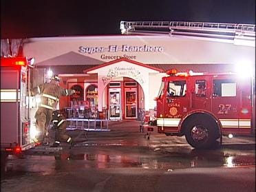 Tulsa Fire: Cause Of Store Fire Was Accidental