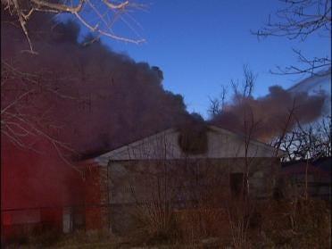Turley House Fire