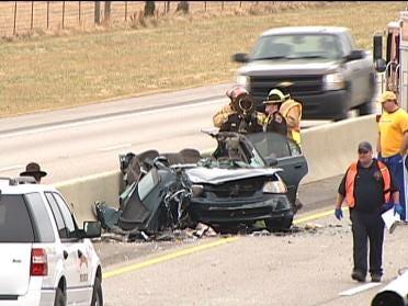 Turnpike Crash Sends One To Hospital