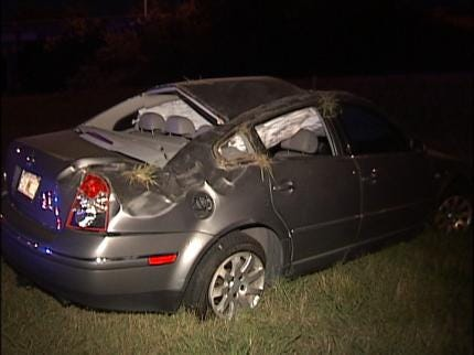 Accidents Keep Tulsa Police Busy