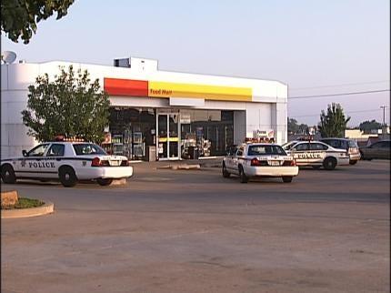 South Tulsa Shell Station Robbed