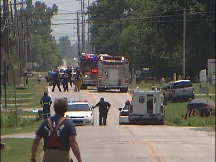 Gas Leak Causes Evacuation In East Tulsa