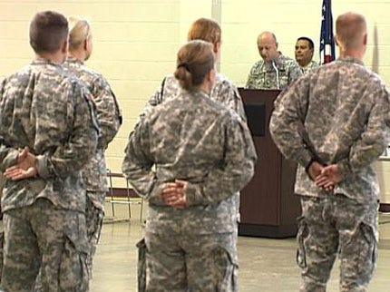Members Of 486th Civil Affairs Battalion Honored