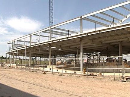ONEOK Field Construction Right On Schedule