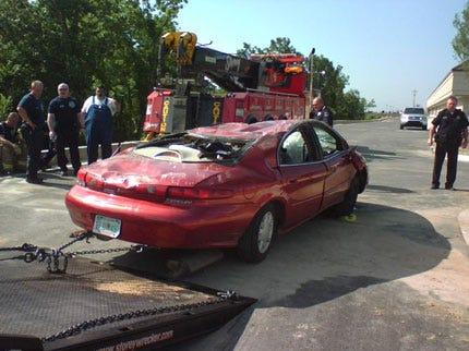 Unusual Tulsa Traffic Accident