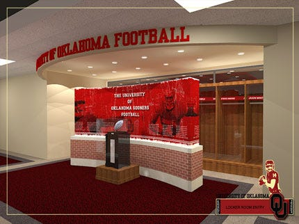 OU's Memorial Stadium Renovation Nears Completion