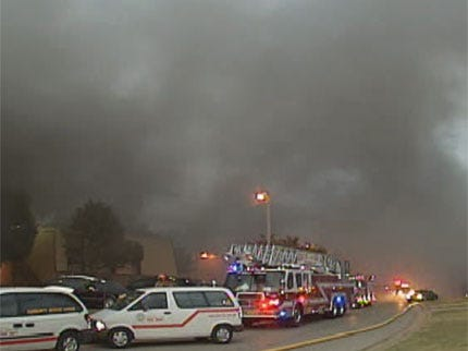 Food Left On Stove Cause Of Oklahoma City Apartment Complex Fire