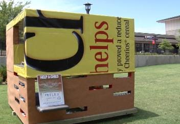 Operation Playhouse Displays 'Green' Playhouses in Jenks