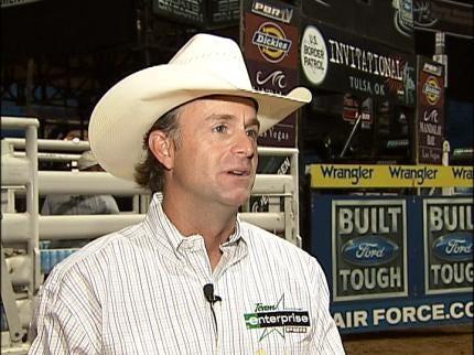 PBR's Flint Rasmussen Ready For Tulsa