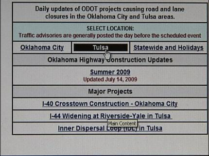 Road Construction Information Just A Click Away