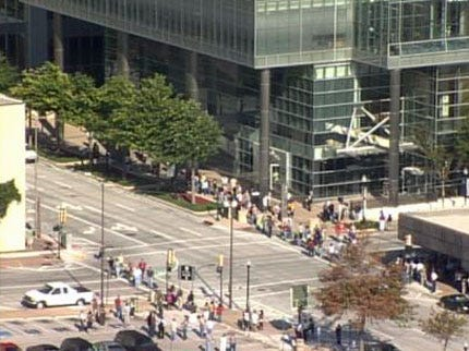 Tulsa City Hall Evacuated For Safety Drill