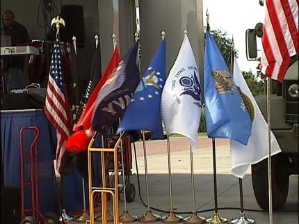 Veterans Honored With Special Ceremony In Tulsa