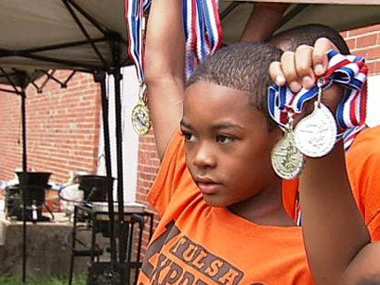 Young Tulsa Runners Raise Money For Junior Olympics