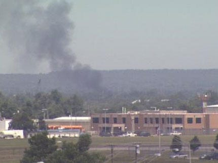 Tulsa Firefighter Burned On The Job