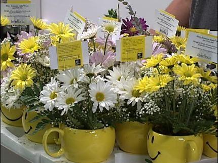 Tulsa Children's Hospital Patients Receive Flowers