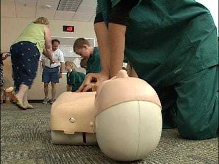 Tulsa Campers Learn Life Saving Lessons