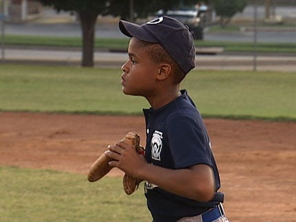 Youth Baseball Back In North Tulsa