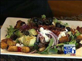 Stacked Steak Salad