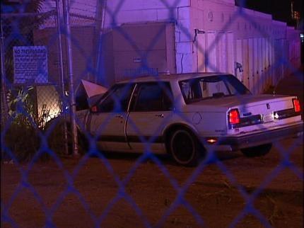 Two Arrested After Overnight Tulsa Crash